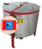 Cassette honey extractor (6),Dadant, automatic steering, diameter 1000mm