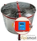 Cassette honey extractor, Ø1200mm, 20 Langstroth, with half automatic steering and partitions