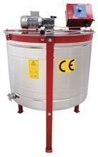Cassette honey extractor, Ø800mm, 6 German frames ''Deutsch Normal'', with half automatic steering and top drive