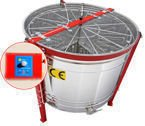 Honey extractor,diameter 1000mm, (cassette DN, (12)) with half automatic steering , with stainless partitions