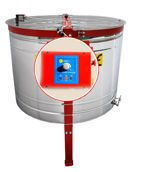 Radial honey extractor, Ø 1000mm, with half automatic steering and bottom drive