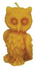 Silicone mould for candles' making – Owl (H-8cm)
