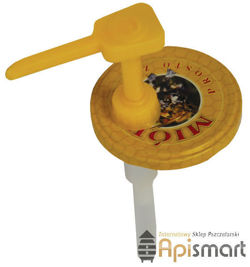 Applicator for honey, for small and big jars