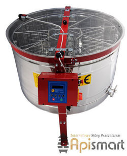 Cassette honey extractor, Ø1000mm, 8 German frames, with full automatic steering and bottom drive