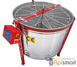 Cassette honey extractor, Ø1200mm, 16 Dadant, with full automatic steering and partitions