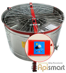 Cassette honey extractor, Ø1200mm, 20 German frames, with half automatic steering and partitions