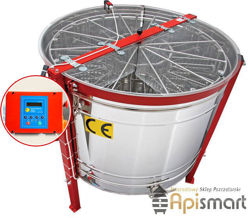 Honey extractor,diameter 1000mm, (cassette DN,(12)) with full automatic steering , with stainless partitions