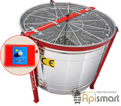 Honey extractor,diameter 1200mm, (cassette DN,(16)) with half automatic steering , with stainless partitions