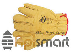Leather gloves (yellow)