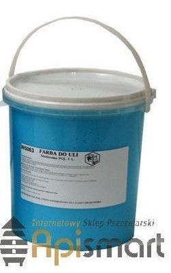 Paint for bee hive (blue) 1l