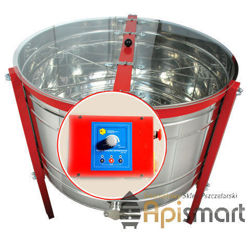 Radial honey extractor, Ø 1200mm, with half automatic steering and bottom drive