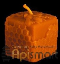 Silicone mould for candles' making - Cube (H-6cm)