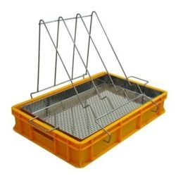 Uncapping tray (H=100mm, stainless sieve)