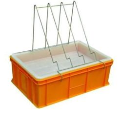 Uncapping tray (H-200mm, plastic sieve)