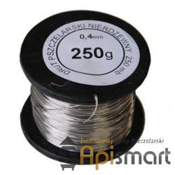 Wire for frames 0,4 mm (250g), stainless steel